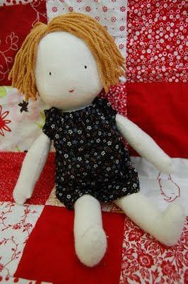 Simple Rag Doll Patterns | ... Christmas and a birthday, I finally made my daughter a rag doll