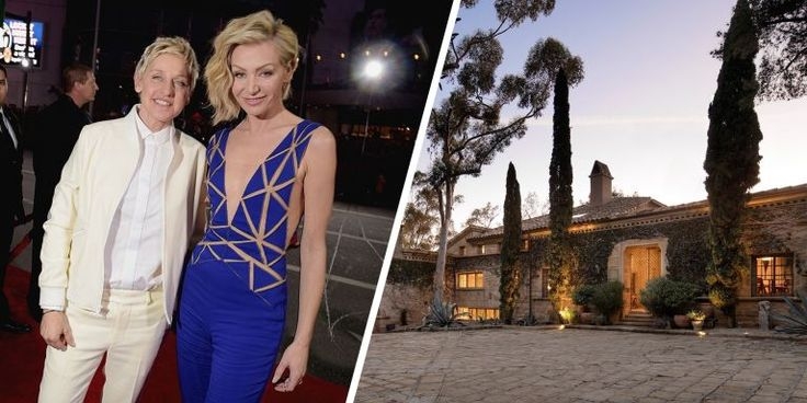 """""""It's a home that honors nature, and I love that,"""" DeGeneres said."""