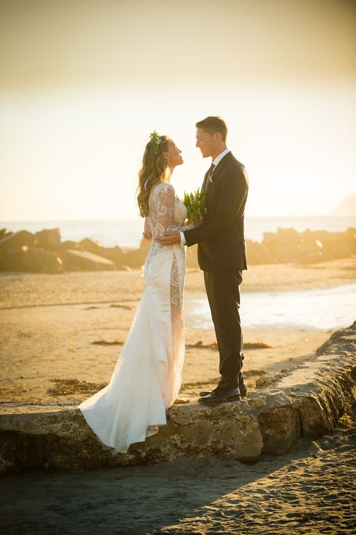 beach wedding places in california%0A BohoChic Wedding with Ocean Elements in Southern California
