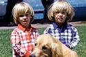 """Nicky And Alex From """"Full House"""" Today"""