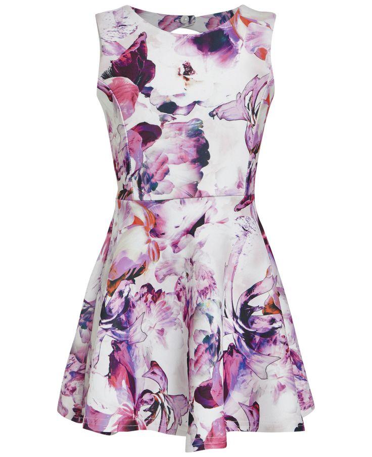 Girl's Botanica Dress - Bardot Junior