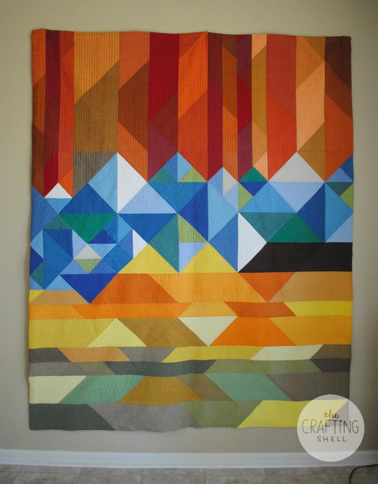 The Crafting Shell: The Colorado Quilt