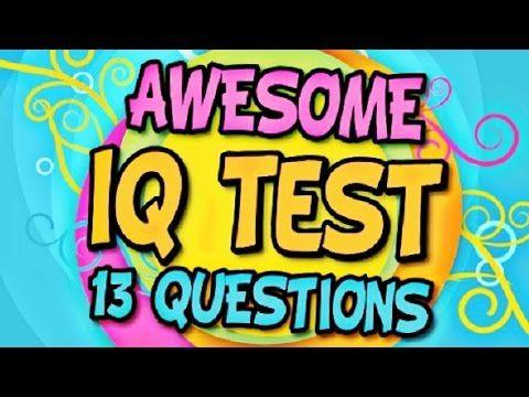 ✔ Smart IQ Test - 13 Mind Trick Questions - YouTube