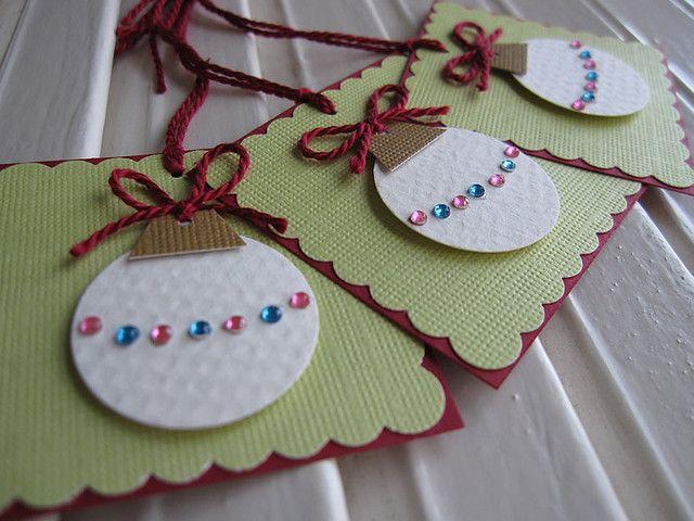 Sweet Christmas Ornament Tags
