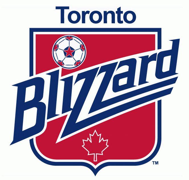 Toronto Blizzard Primary Logo Logos Toronto Sports Logo