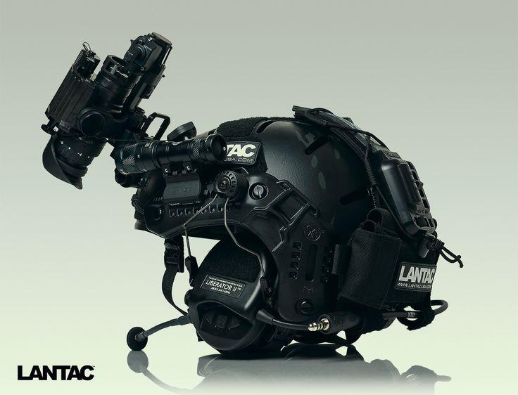 MTEK Flux Carbon-V in Multicam Black.
