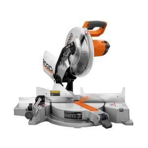 RIDGID 15-Amp 12 in. Compound Miter Saw with Laser-R4120 at The Home Depot