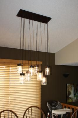 allen + roth 8-in W Oil Rubbed Bronze Pendant Light with Clear Shade