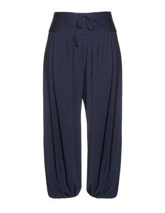 El Pantalon largo azul