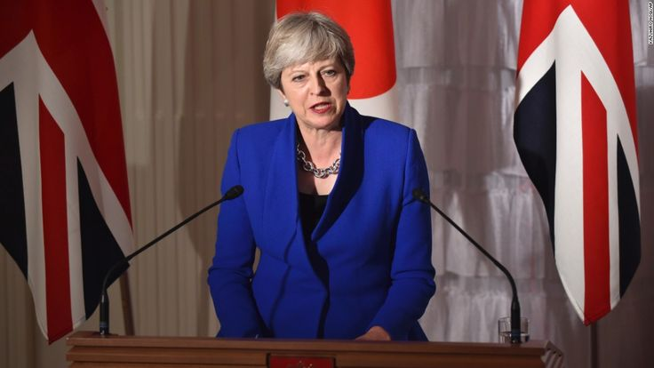 Defiant May: I'll stand in UK's 2022 election