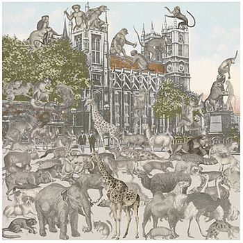 Westminster Abbey  Animalia By Peter Blake