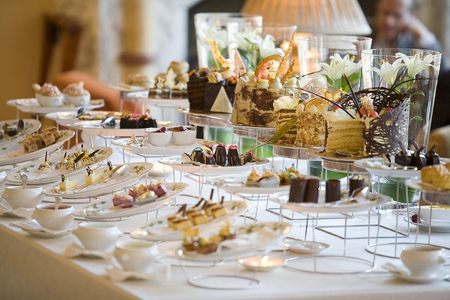 Choose from a selection of pastries on offer at the High Tea, served in The Lounge at The Table Bay Hotel.