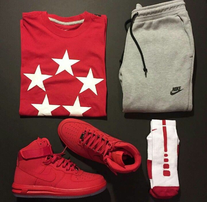 Outfit grid - Nike sport