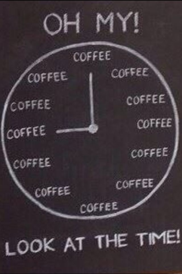 OH!  Look at the time!