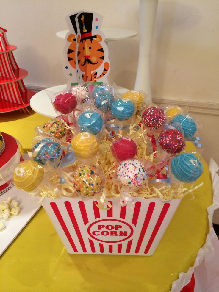 Carnival Cake Pops by Bak'N Buddies