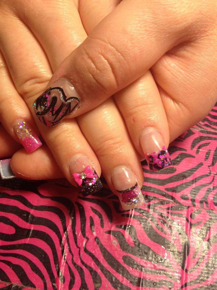 7 best Metal Mulisha nails images on Pinterest | Metal mulisha, Hair ...
