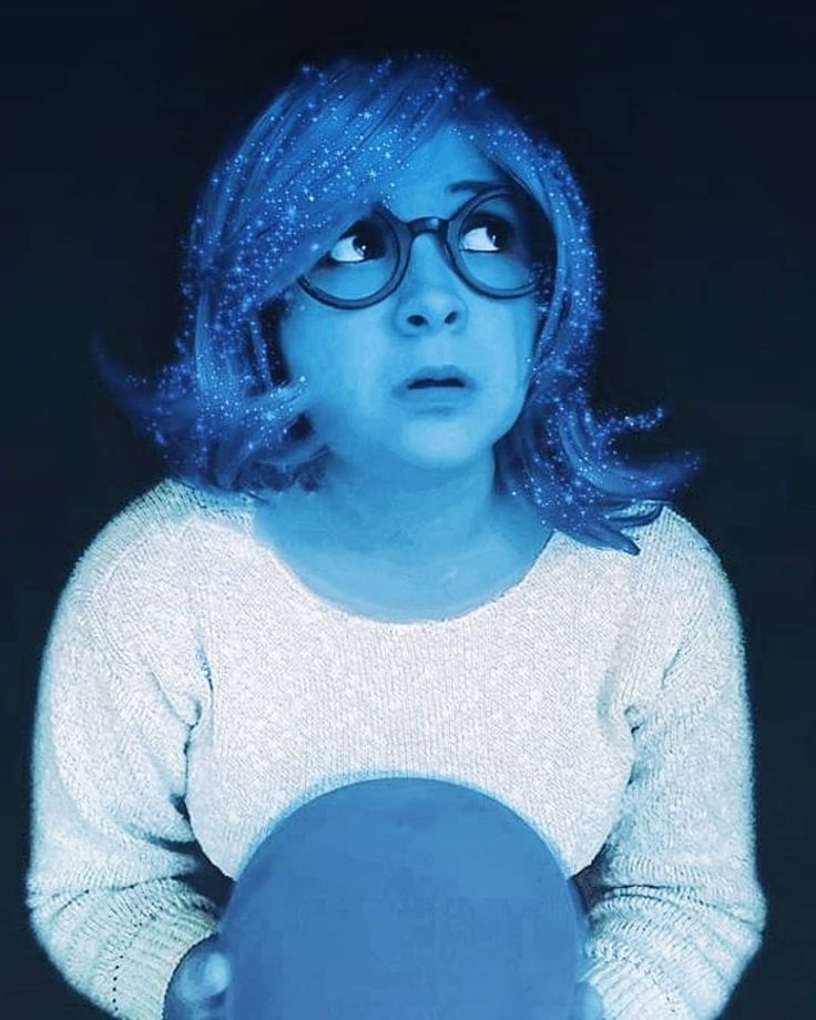 Inspiration & Accessories: Inside Out Sadness Halloween Costume Idea
