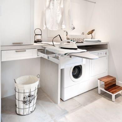 Salle de bain et salle de lavage en cohabitation - Salle de bain - Inspirations - Décoration et rénovation - Pratico Pratique