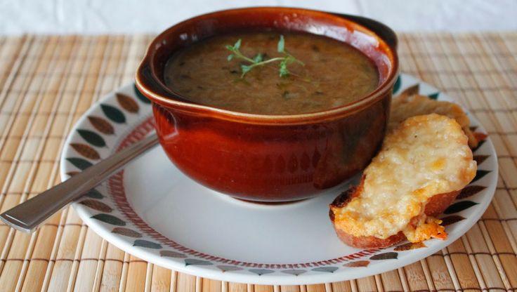 Løksuppe/onion soup