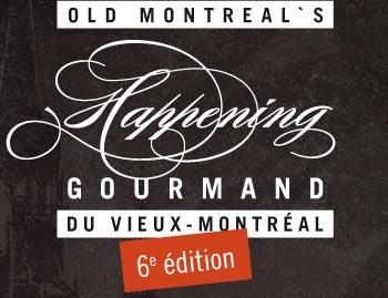 Get ready! Happening Gourmand 6e édition, à partir du 10 janvier 2013 #Vieux-Montréal #hgmontreal
