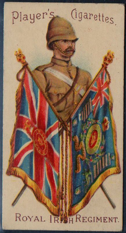 Players Military Series # 49 Royal Irish Regiment issued 1900 | eBay