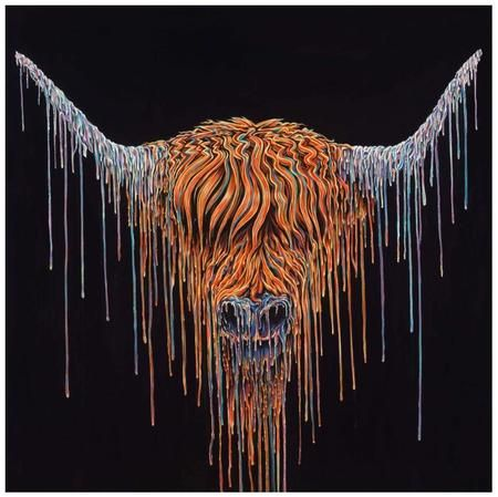 www.canvasgallery.com Robert Oxley Highlander