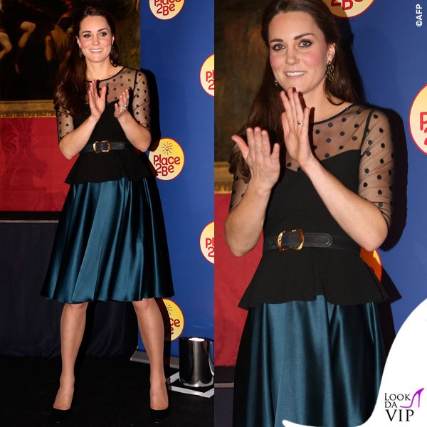 Kate Middleton e il suo look questa volta deludente!