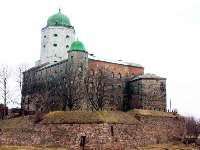 The Vyborg Castle; link to website re Culture of the Leningrad Oblast including Viipuri.
