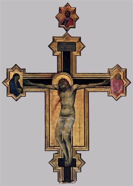 Crucifix - Pietro Lorenzetti