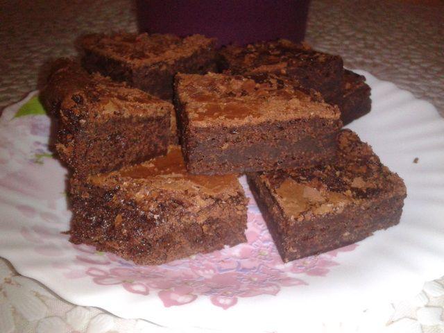Brownies vegan con latte di mandorle