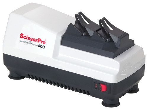 EdgeCraft - ScissorPro Diamond Hone Scissor Sharpener - White