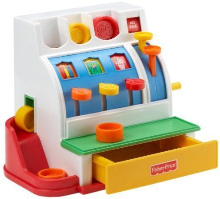 Fisher-Price 72044-0 - Registratore di cassa