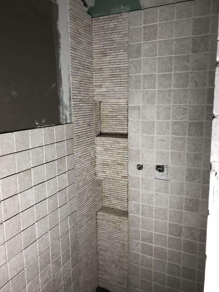 51 best Badezimmer \ Fliesen images on Pinterest Simple bathroom - badezimmer steinwand
