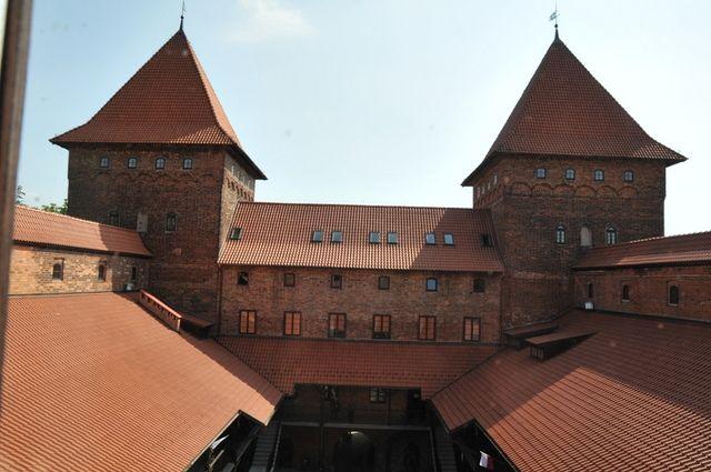 wieże zamku