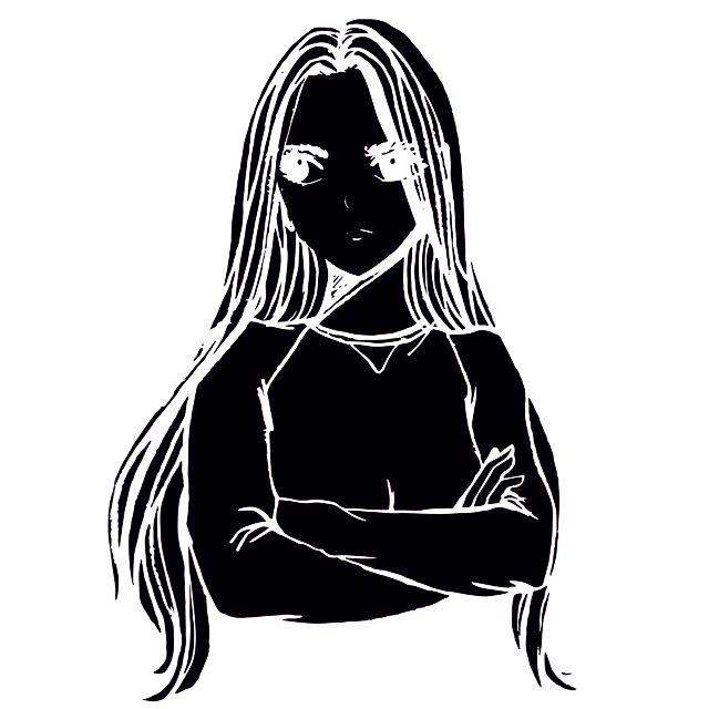 illustration black