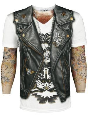 Tattoo Sleeve camiseta Rock ´n´ Roll $29.99 € en EMP... la mayor tienda online de Europa de Merchandising oficial de bandas de Metal, Hard Rock , Heavy, Ropa Gótica , Punk y todo lo que te hace falta para vivir el Rockstyle en toda su dimensión. EMP Rock Mailorder