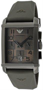 Emporio Armani Emporio Armani Classic AR0336 Men's Gray Chronograph Watch