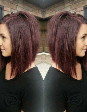 Chic and Stylish Inverted Long Bob Styles #bob #hairstyle