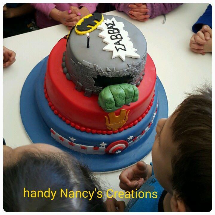 My son's birthday cake.