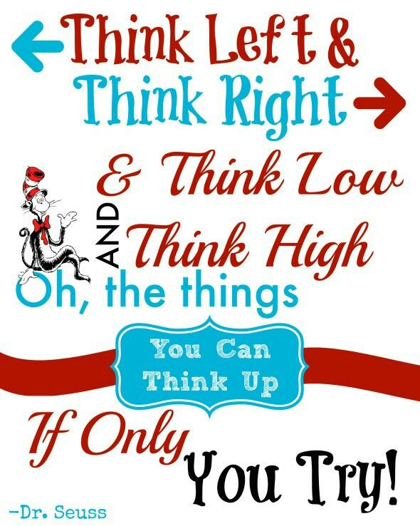 the key elements of creativity and imagery in dr seuss books
