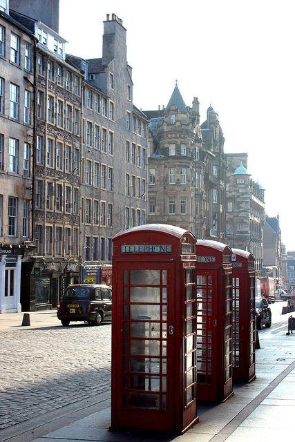 The Royal Mile-Edinburgh, Scotland