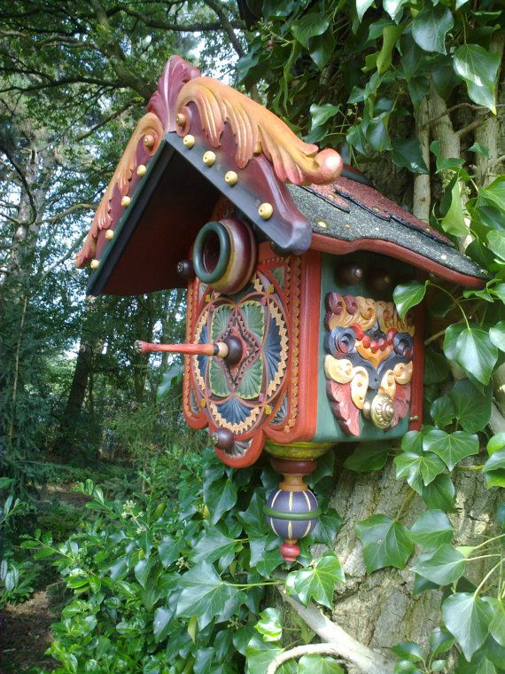 Hey, I found this really awesome Etsy listing at https://www.etsy.com/listing/80129152/bohemian-birdhouse