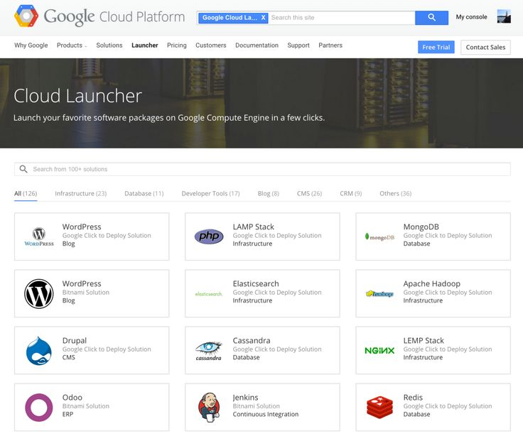 Google Cloud Launcher Lets Developers Quickly Deploy Over 120 Popular Open-Source Packages | TechCrunch
