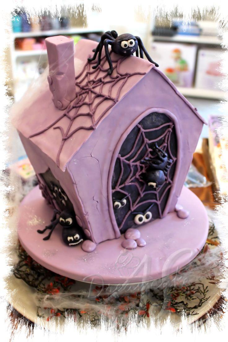 Grusel-Spinnen-Torte nach Debby Brown