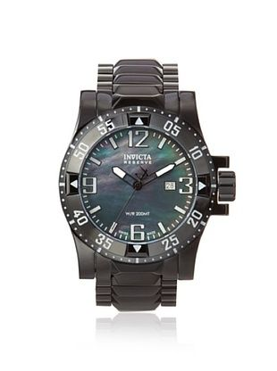 Invicta Men's 0516 Reserve Black Mother of Pearl Watch