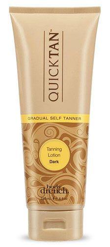 Body Drench Quick Tan Gradual Tanning Lotion.