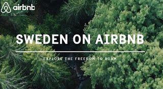 Η Σουηδία μόλις έβαλε στο Airbnb... ολόκληρη την χώρα!