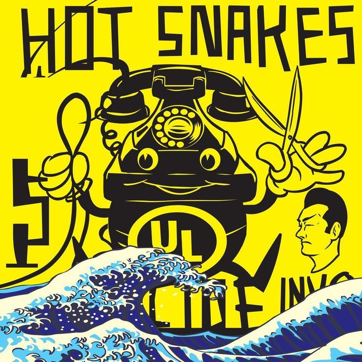 Hot Snakes - Suicide Invoice [limited edition yellow colored vinyl]