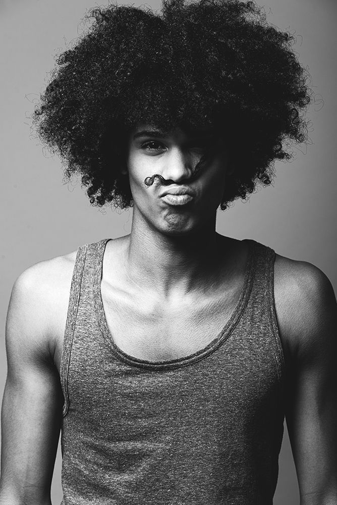 13 Guys With Natural Hair Fro's To Die For