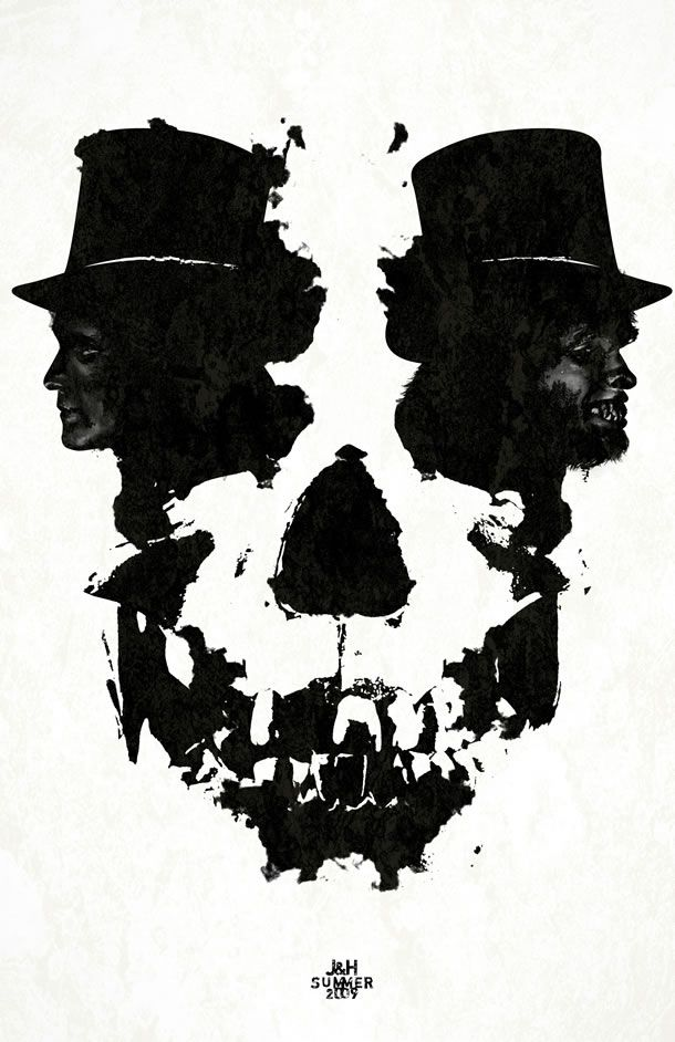 Dr Jekyll and Mr Hyde * Skull Illusion Art. Description from pinterest.com. I searched for this on bing.com/images